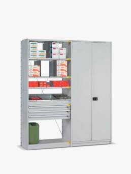 estanterias-con-cajones-media-carga-mobiliario-tecnico-dissetodiseo